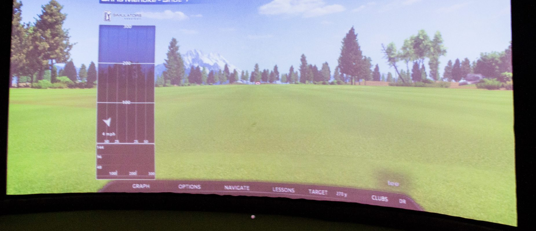 Golf Course Simulation at Kohler Swing Studio