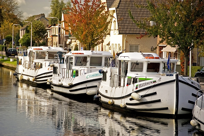 loca boat armada on Holland cruise