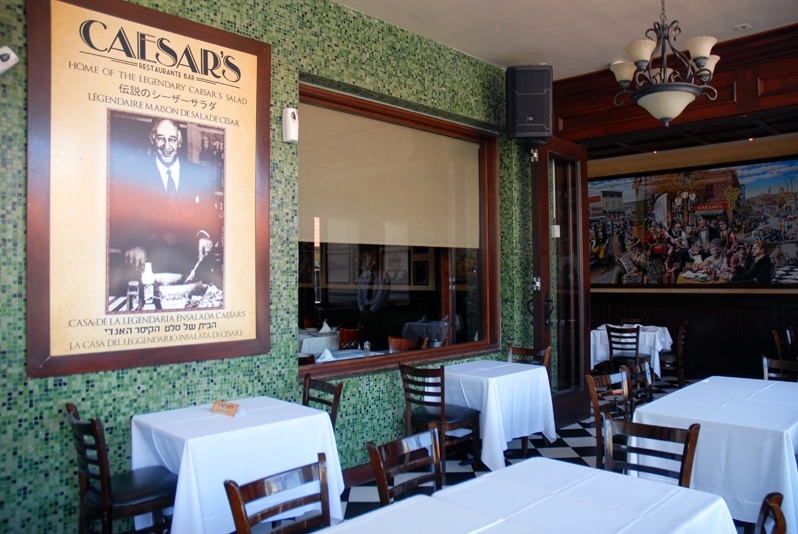 Caesar's restaurant in Tijuana, Mexico