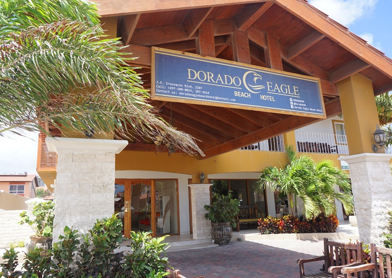 Dorado Eagle Beach Hotel in Aruba