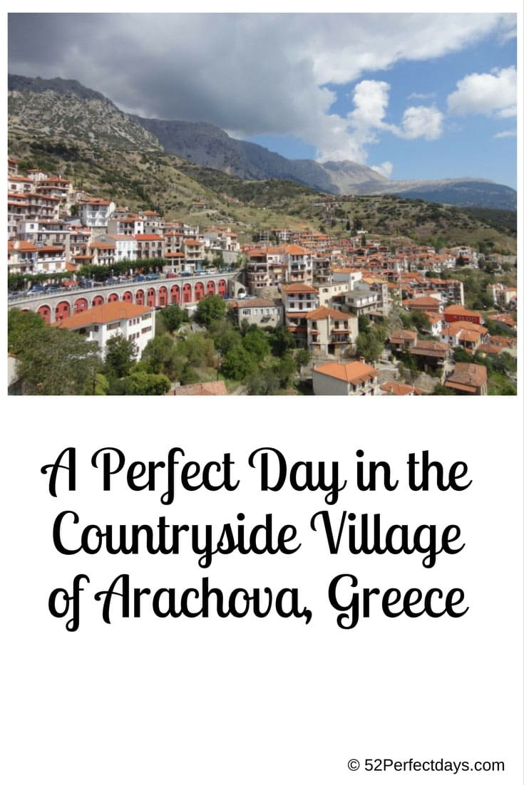 A Perfect Day in the Countryside Village of Arachova, Greece