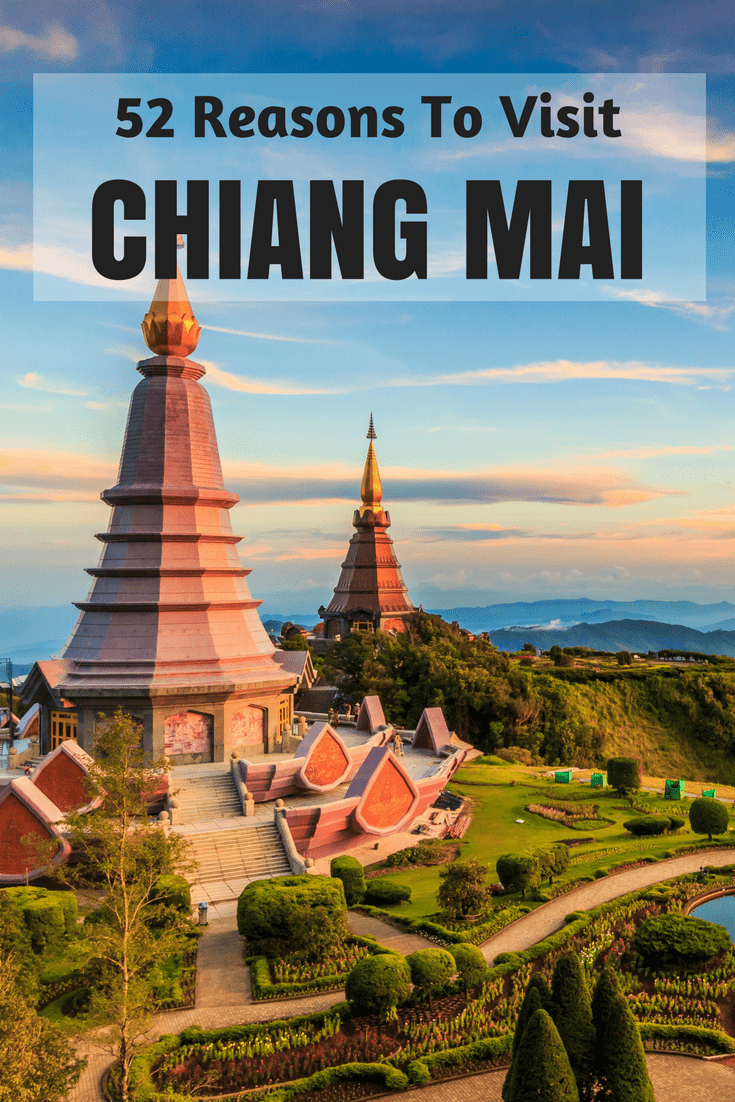 Chiang Mai is one of the most beautiful and cheapest places to visit in Thailand. Here are 52 Reasons you must visit Chiang Mai. #chiangmai #thailand #asia #travel