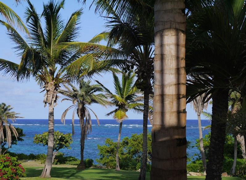 Antigua Island in Caribbean