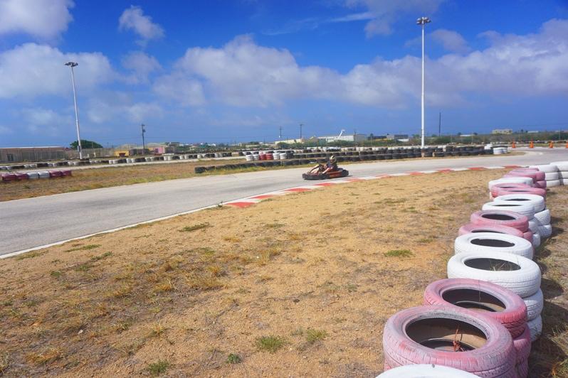Bushiri Karting Speedway in Aruba
