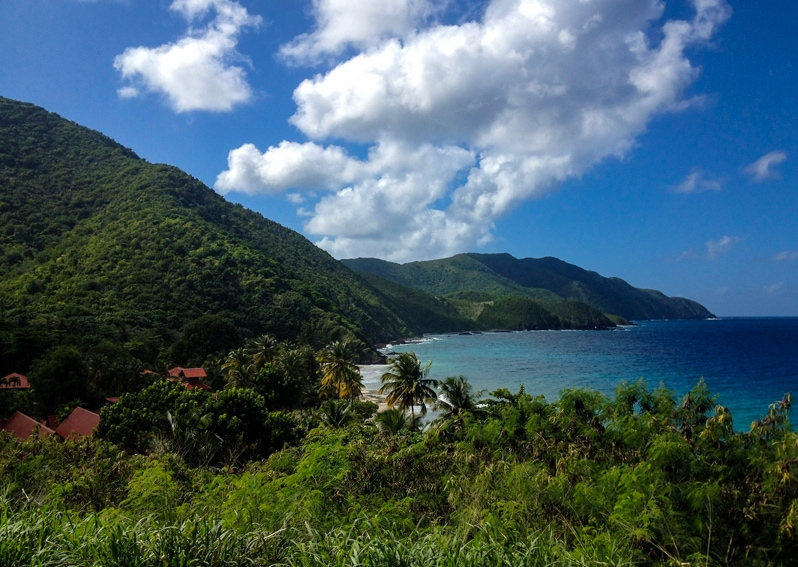 St. Croix island in caribbean