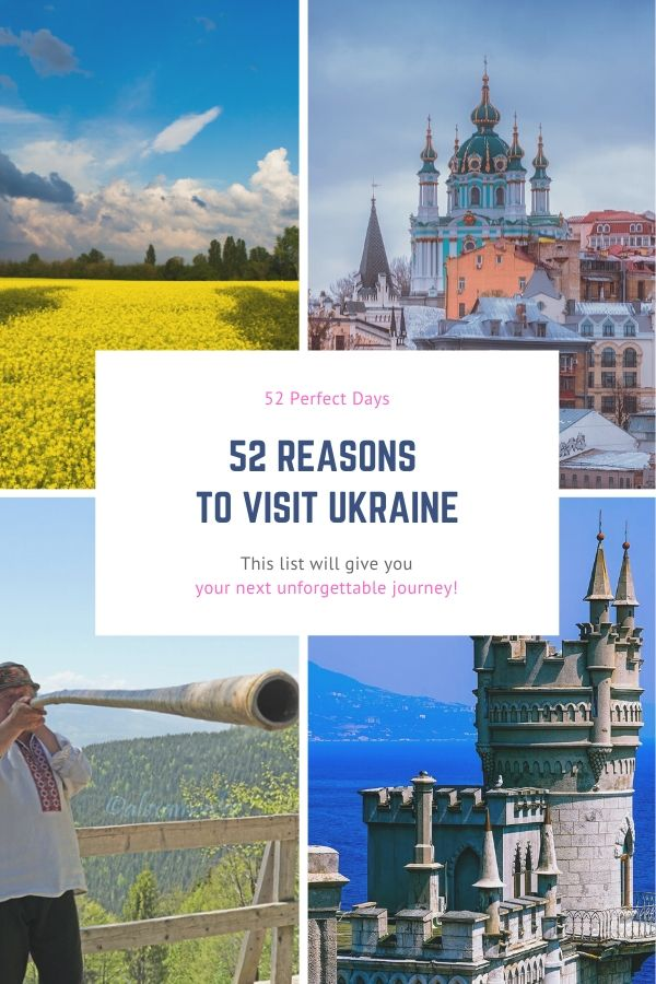 52 reasons to visit ukraine