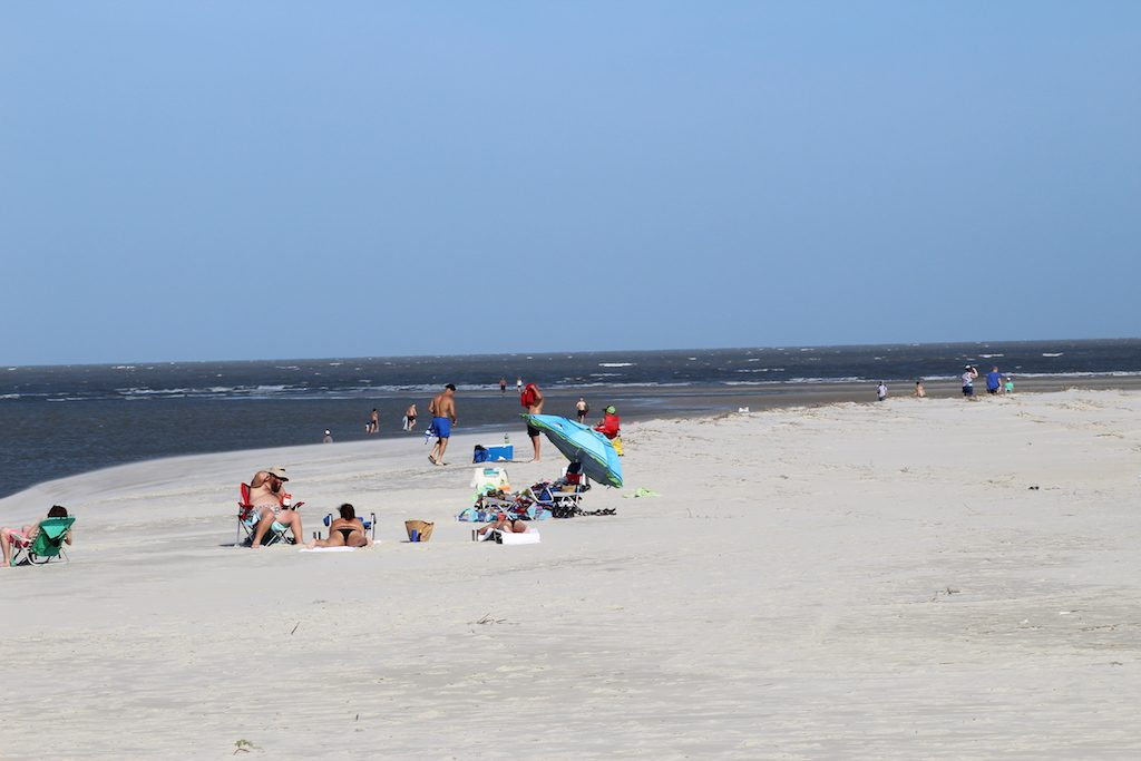 The natural side of St. Simons Island, Georgia: Beach fun for everyone on St. Simons Island
