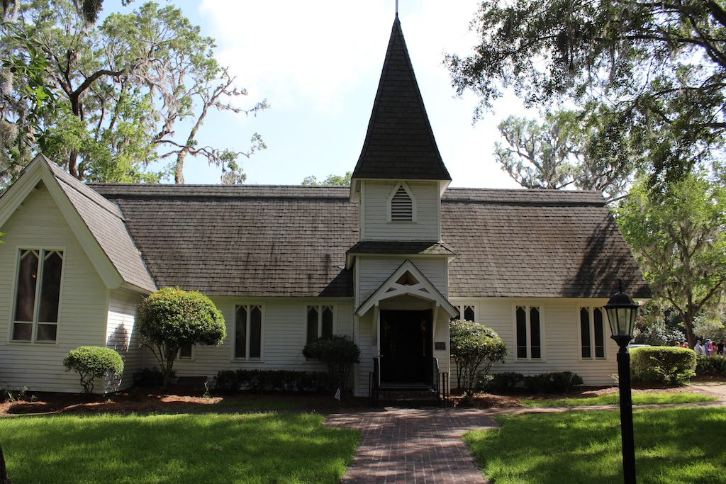 The natural side of St. Simons Island, Georgia: Discover the history of St. Simons. Your visit includes Christ Church