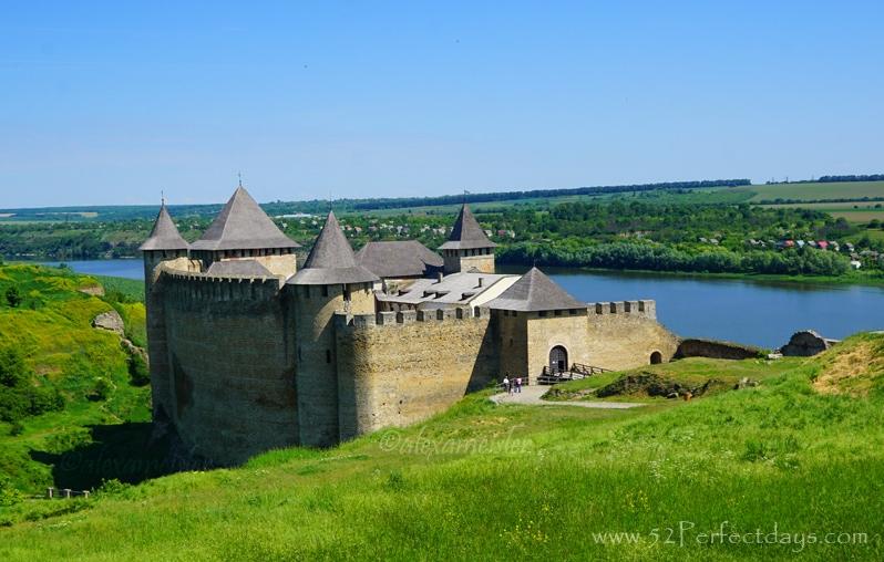 Kamianets-Podilskyi Castle in Ukraine