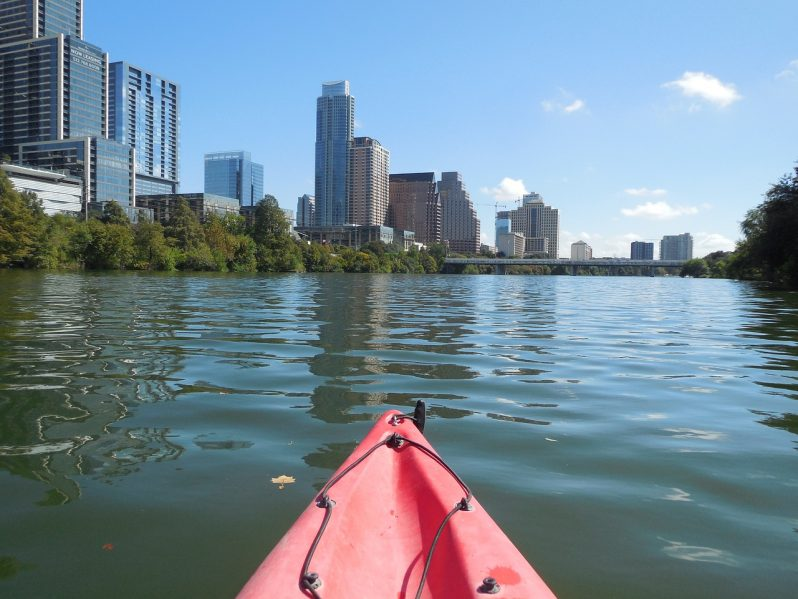 Kayaking in Austin