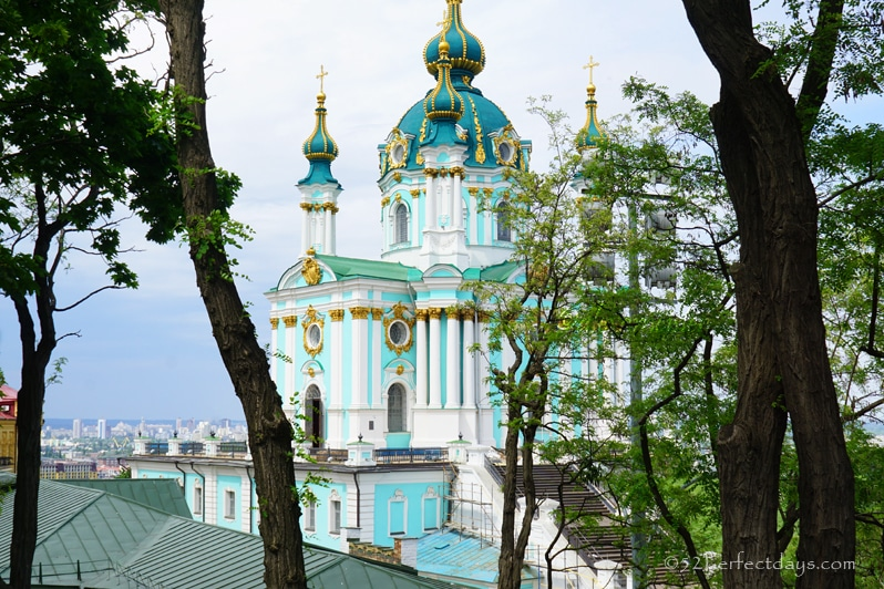 St-Andrews Descent in kiev, ukraine