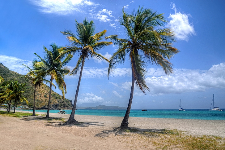 St. Kitts most beautiful beach