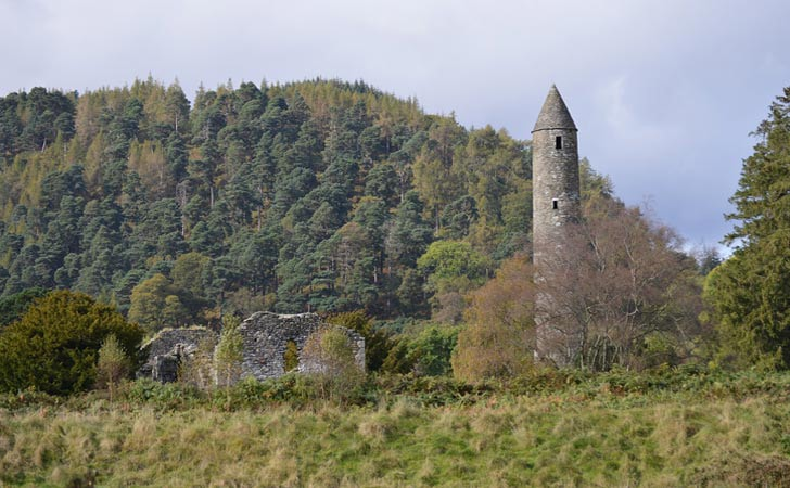 glendalough castle Ireland