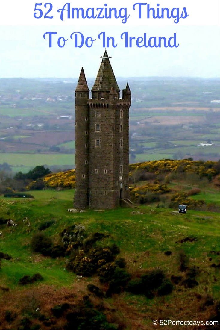 50 things to do on your Ireland vacation. Ireland travel tips. #ireland #europe #traveltips #travel