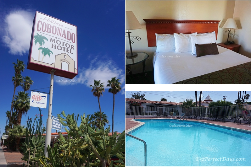 historic coronado motor hotel in yuma, arizona