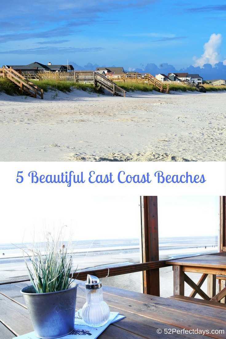 Top 5 East Coast Beaches in the United States. Find the most Most Beautiful East Coast Beaches, quaint towns, top hotels and restaurants. #beautiful #beach #eastcoast #USA