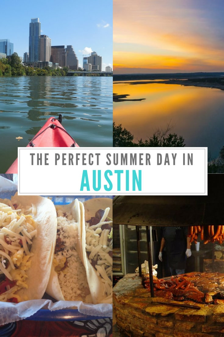 How to spend a perfect summer day in Austin, Texas including where to find the best restaurants and things to do. #austin #texas #northamerica #USA #travel