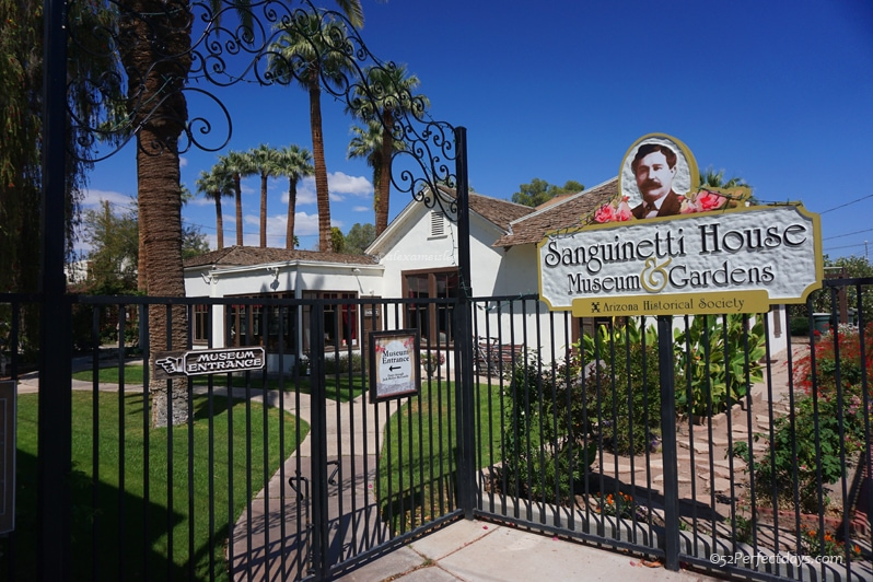 Sanguinetti House Museum in Yuma, Arizona