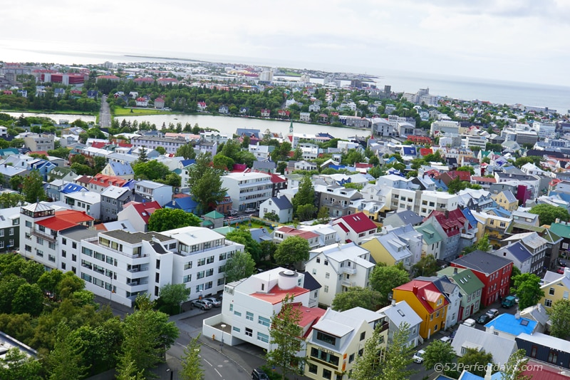 view of Reykjavík, Iceland