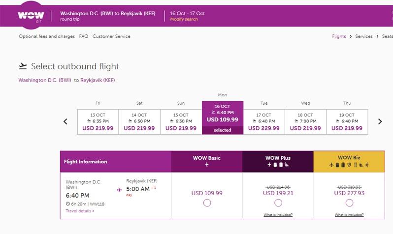 cheap airfare to europe wow air