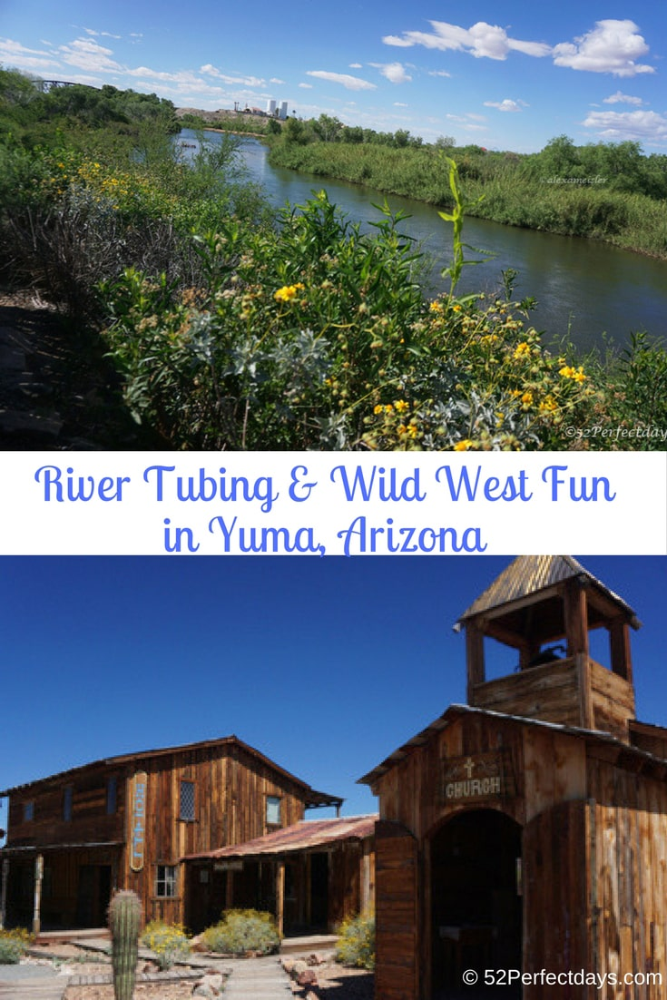 Things to Do in Yuma, Arizona: Float down the Colorado river, take a ghost tour and learn about the wild west days of Yuma. #coloradoriver #yuma #arizona #northamerica #USA #travel