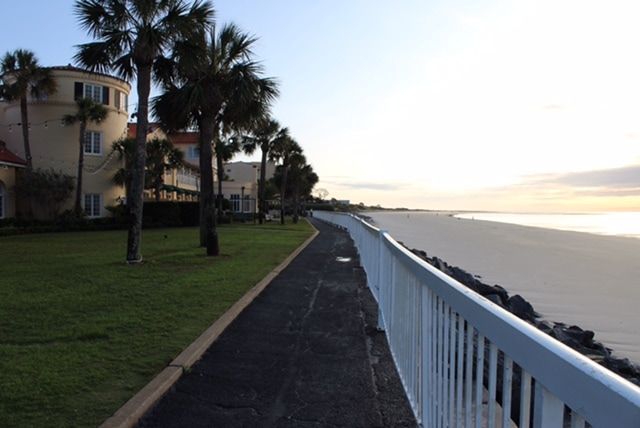 St. Simons Island, Georgia: The King and Prince Beach and Golf Resort. The resort's boardwalk