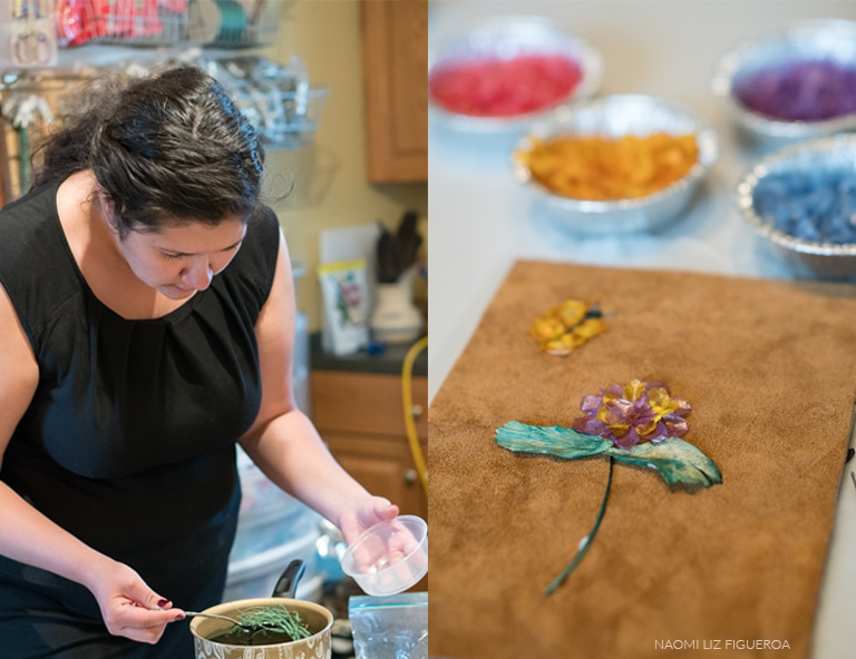 Learn about native art in a hands-on art workshop at Moonstone Creation in Calgary.
