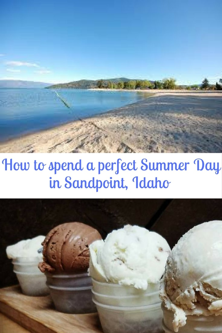 How to spend a perfect day in Summer in Sandpoint, Idaho. Sandpoint is a fun day excursion to explore lakes, antiques and great food. #sandpoint #idaho #travel #northamerica #USA