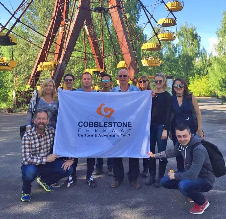 Visiting Ukraine on a Cobblestone Freeway Tour
