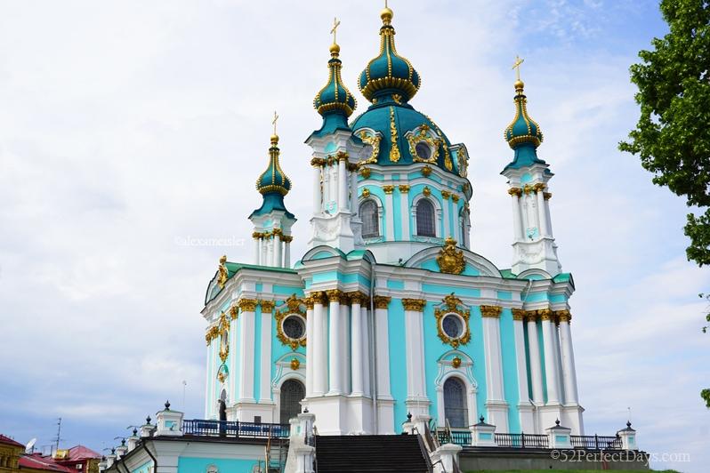 Kiev Church in Ukraine