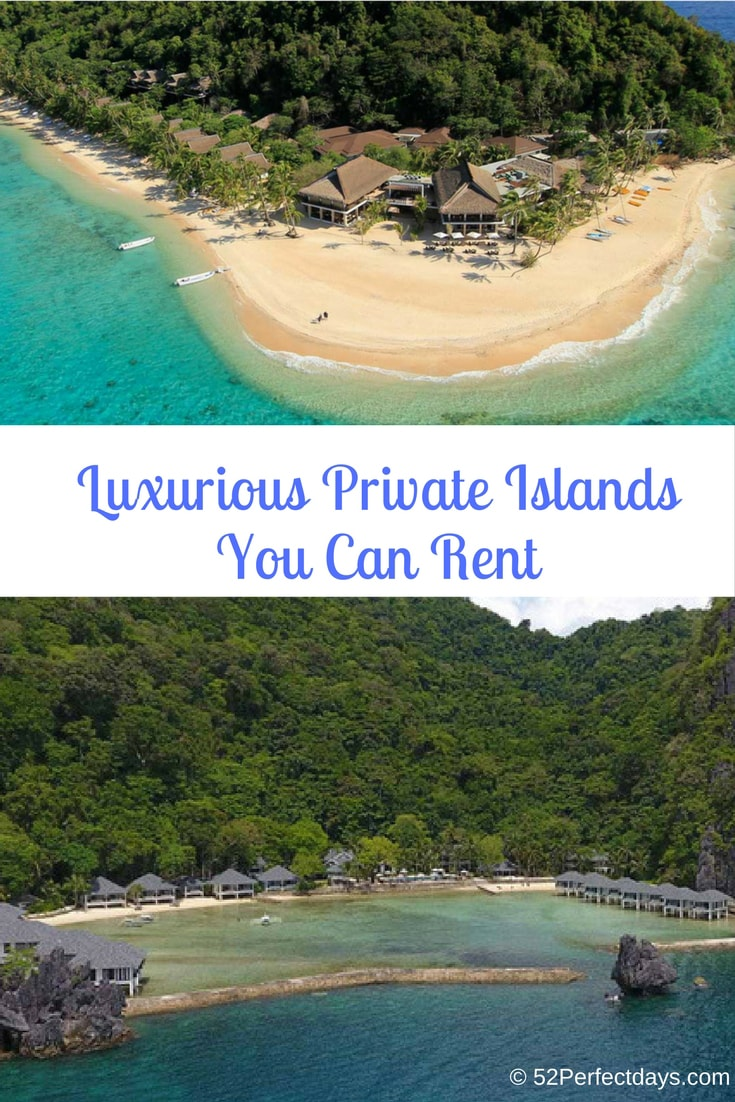 World's most luxurious private islands you can rent or visit. A private jet charter, a nice room with a view, and secluded island are all you need to enjoy the best vacation of your life. #luxurious #islands #traveltips #travel
