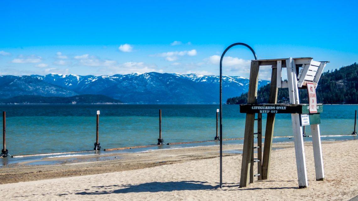 Sandpoint, Idaho beach