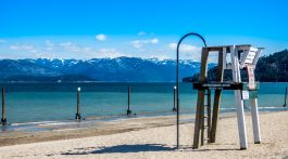 Sandpoint, Idaho beach