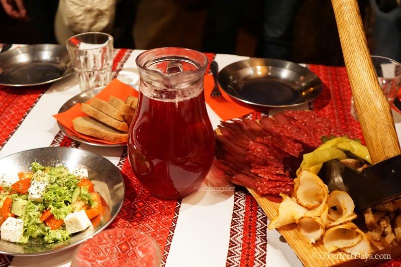 Lunch in Ukraine