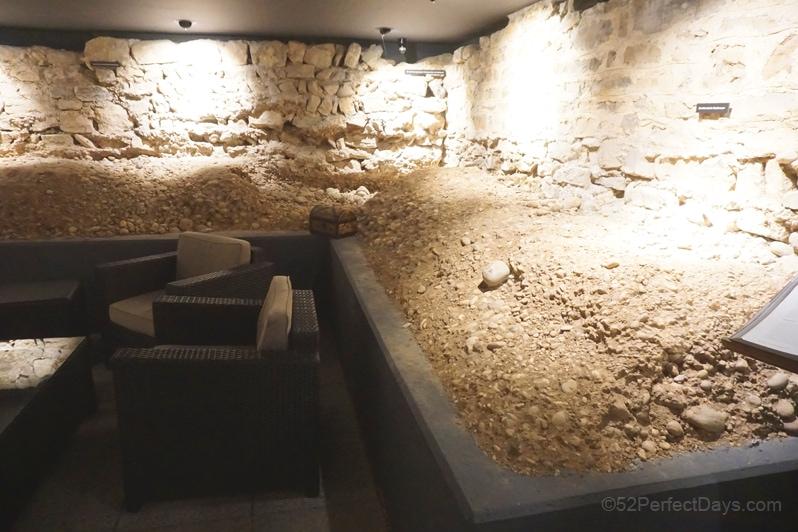 Der Teufelhof Basel archaeological museum