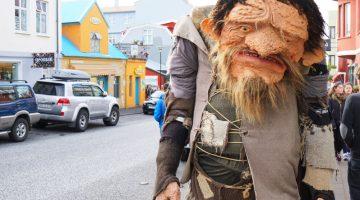 Reykjavík iceland downtown