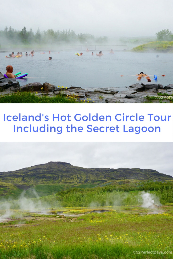 Hot Golden Circle tour includesa visit to some of Iceland's most beautiful natural wonders including geysers, waterfalls, geothermal areas and a National Park. #naturalwonders #iceland #reykjavik #europe #travel