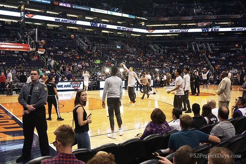 Phoenix Suns Basketball Game