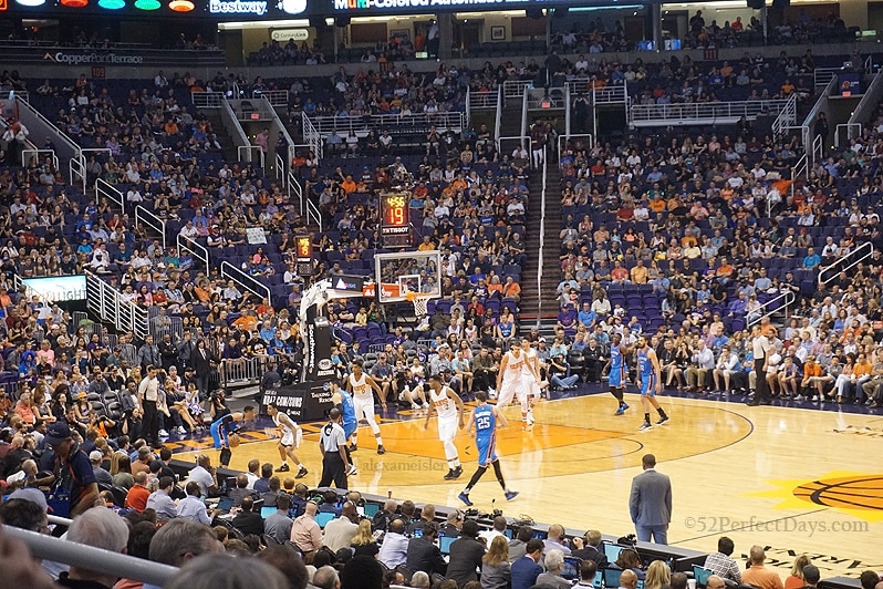 low priced 7a997 c5030 Why My First Phoenix Suns Basketball Game Was Great | 52 ...