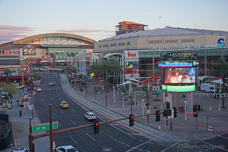 Talking Stick Arena in Phoenix, Arizona