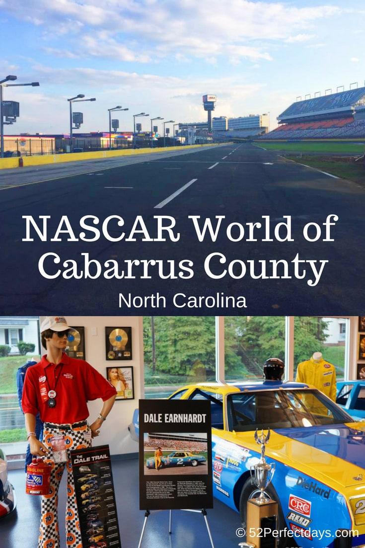A Perfect day exploring the NASCAR World of Cabarrus County, North Carolina #cabarrus #county #northcarolina #northamerica #travel #USA