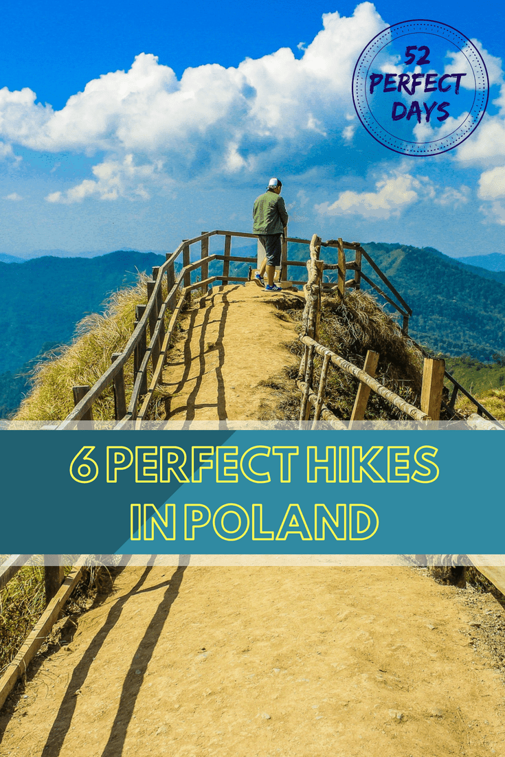Hiking in Poland: 6 best hiking trails in the Polish mountains.  #hiking #poland