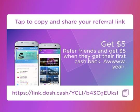Dosh Cash Back App