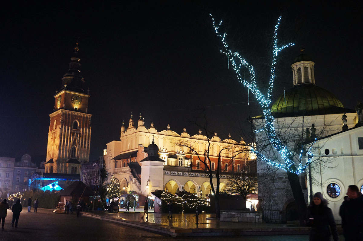 Krakow, Poland Christmas market