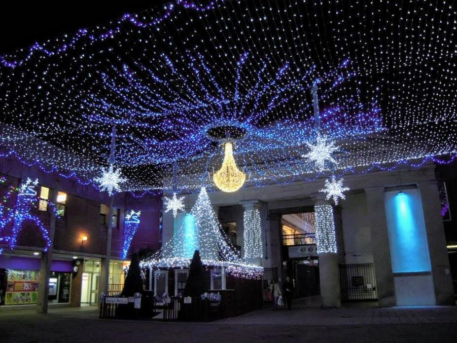 Exeter, UK Christmas Market