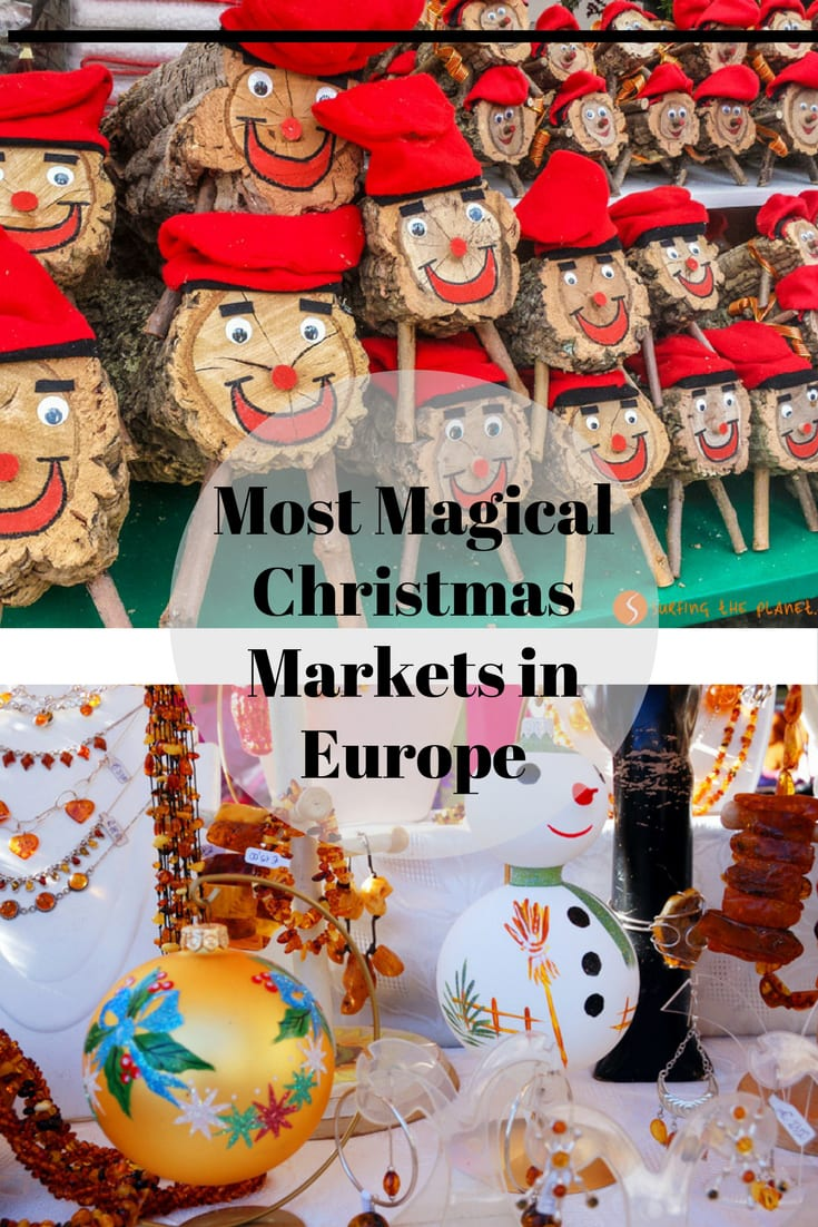 Get ready for lots's ofspiced wine, sparkly lights, handmade foods and crafts as we take a spin around some of the most magical European Christmas markets!