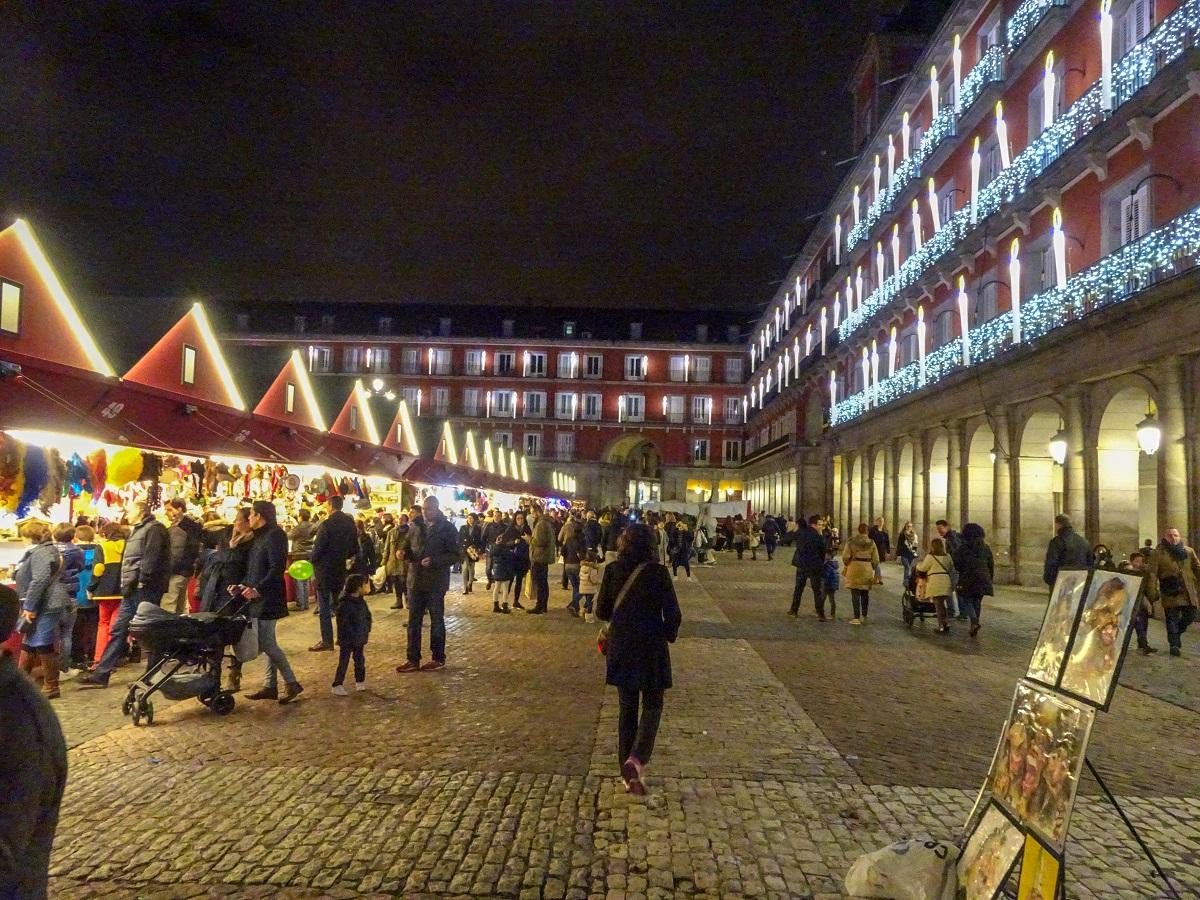 The Madrid Christmas market