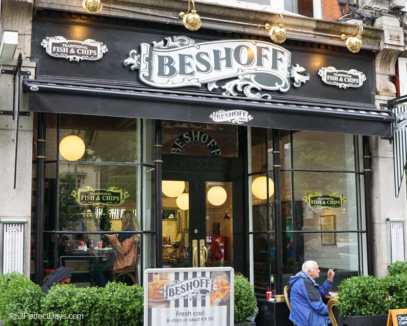 Beshoff Fish and Chips in Dublin, Ireland