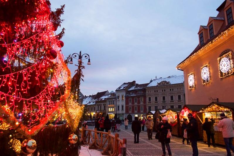 Brasov, Romania Christmas Market