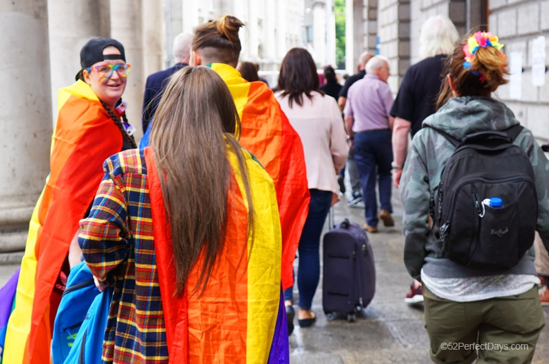 Gay Pride in Dublin, Ireland